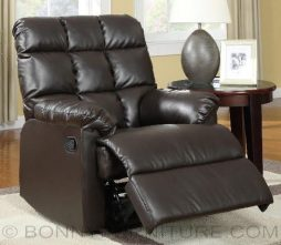 z-9469 recliner chair black 11 brown 14