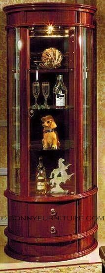 s-832 display cabinet curio cabinet