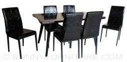 9606 dining set 6-seater