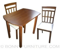ds-5855 dining set 2-seater