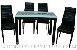 ds-c13 dining set 4-seater
