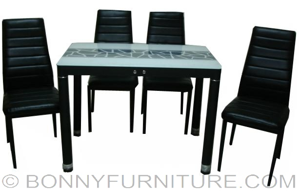 Ds C13 Dining Set 4 Seater
