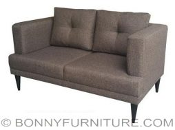 squadra 2-seater sofa brown