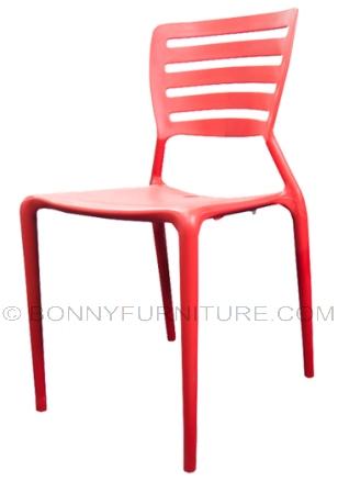 tulip plastic chair