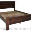 Bobby Wooden bed queen