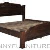 bradley wooden bed queen, king