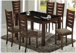 ds-9135-5 dining set 6-seaters