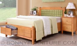 gianna wooden bed queen