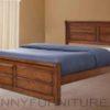 Jaclyn wooden bed double queen king