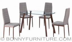 uh-bani 4-seater dining set