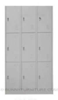 dl-0940 locker 9-doors