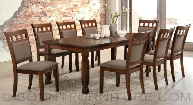 Jit Octave 8 Seater Dining Set Bonny Furniture
