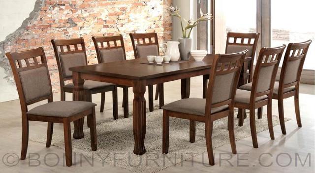 dining room sets that seat 8 | JIT-Octave (8-Seater) Dining Set - Bonny Furniture