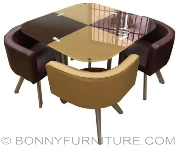 Sk 304 4 Seater Dining Set