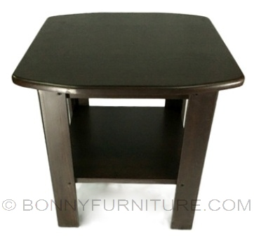 square vinyl side table