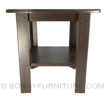 vinyl side table