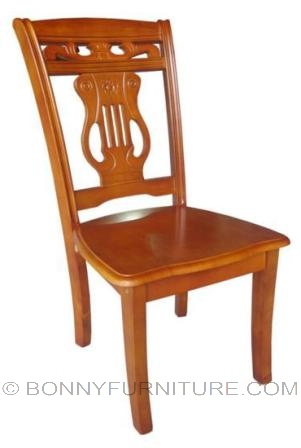 dc-215 wooden dining chair