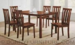 Charlotte 4-seater 6-seater dining set