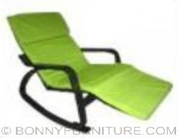 FY-013 Metal Frame Rocking Chair green