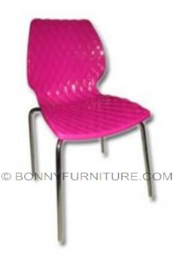 stc-1610c fuschia plastic chair