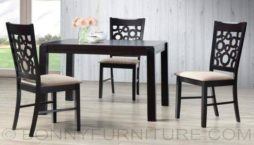 Circle 4-seater dining set