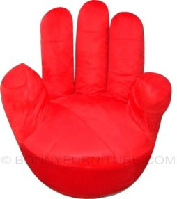 a010-4 finger sofa red