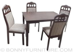 Hapi-alona 4-seater dining set