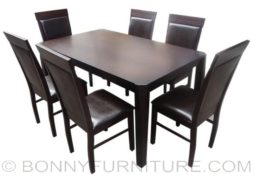Hapi-divina 6-seater dining set