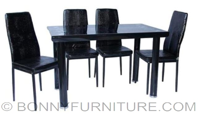 Qt T012 Dining Set 4 Seater 6 Seater