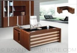 s-177 executive table with l-shape