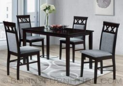 cairo 4-seater dining set