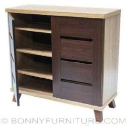 jit-SLW1 shoe cabinet open
