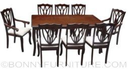 hapi-carla dining set 8-seater