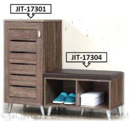 jit-17301 shoe cabinet jit-17304 shoe bench