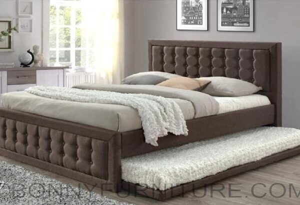 Queen Size Bed.Jit 7809dv Bed With Pull Out Queen Size