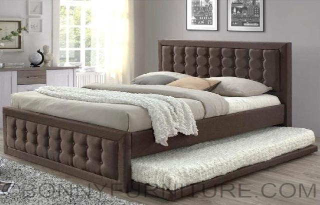 platform bed with trundle jit 7809dv bed with pull out size bonny furniture 16773