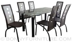 jit-annistonq dining set 6-seater