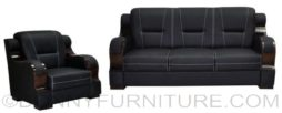09C sofa set black