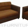 benetton sofa 211 dark brown