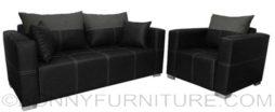 bordura sofa set 311 black