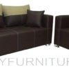 bordura sofa set 311 brown