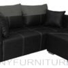 bordura 3-seater sofa black