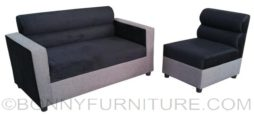 le sofa 211 black-gray