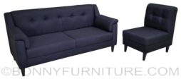 lucciano sofa set 311 black