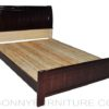 801 wooden bed mahogany