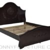 barron wooden bed