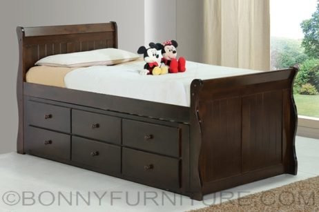 olivia bed with pull-out