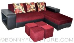 SCARLATTI lshape sofa
