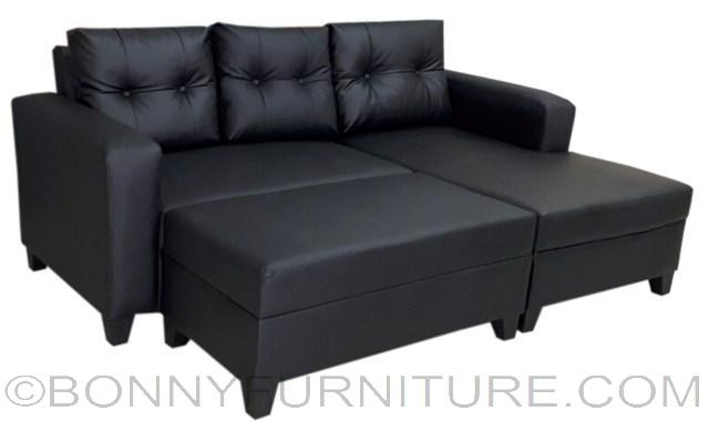 Symphony l shape sofa bonny furniture for Affordable furniture manila