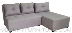 unice lshape sofa beige